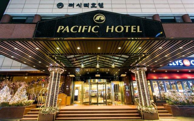 Pacific Hotel вид на фасад
