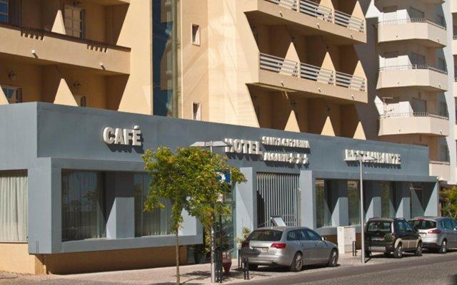 Отель Santa Catarina Algarve Португалия, Портимао - отзывы, цены и фото номеров - забронировать отель Santa Catarina Algarve онлайн вид на фасад