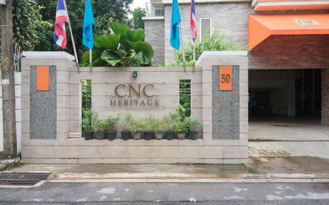 Отель CNC Heritage Таиланд, Бангкок - отзывы, цены и фото номеров - забронировать отель CNC Heritage онлайн вид на фасад