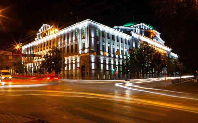 Marins Park Hotel Rostov вид на фасад
