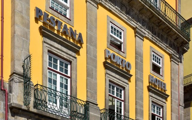 Pestana Vintage Porto Hotel And World Heritage Site Порту вид на фасад