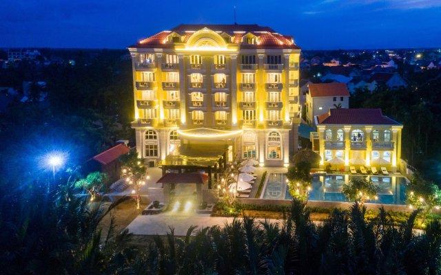 Отель Le Pavillon Hoi An Luxury Resort & Spa вид на фасад