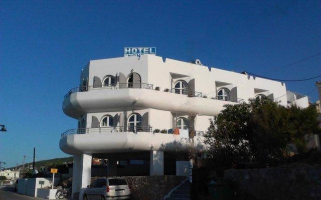Отель Nontas Hotel Греция, Агистри - отзывы, цены и фото номеров - забронировать отель Nontas Hotel онлайн вид на фасад