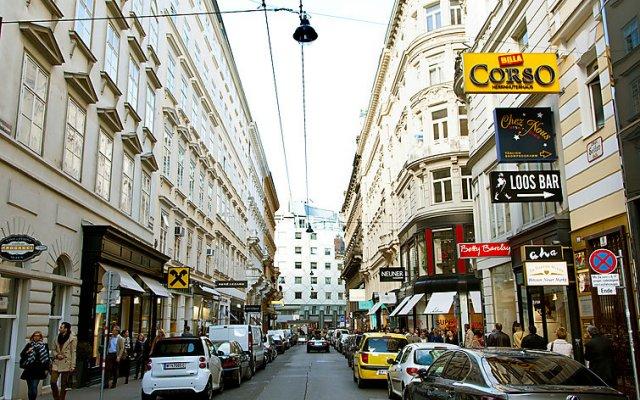 Отель Inner City Австрия, Вена - отзывы, цены и фото номеров - забронировать отель Inner City онлайн вид на фасад