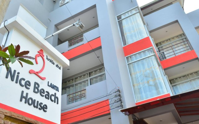 Отель Lanta Nice Beach House Ланта вид на фасад
