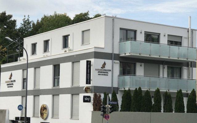 Отель Sahara Falcon Германия, Мюнхен - отзывы, цены и фото номеров - забронировать отель Sahara Falcon онлайн вид на фасад