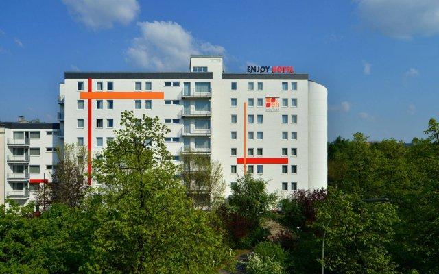 Отель Enjoy Hotel Berlin City Messe Германия, Берлин - - забронировать отель Enjoy Hotel Berlin City Messe, цены и фото номеров вид на фасад