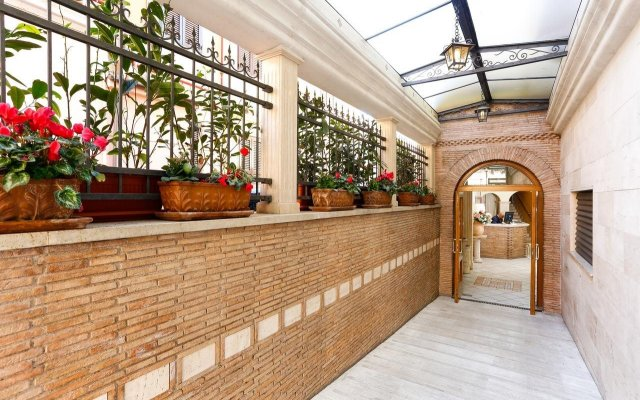 Hotel Tempio di Pallade вид на фасад