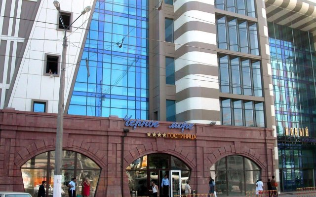 Гостиница Черное море – Пантелеймоновская вид на фасад