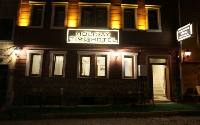 My Holiday Time Hotel Стамбул вид на фасад