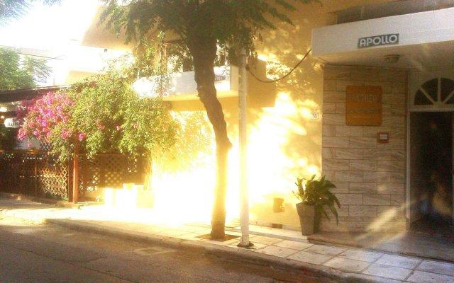 Отель Pantheon Apartments Греция, Кос - отзывы, цены и фото номеров - забронировать отель Pantheon Apartments онлайн вид на фасад