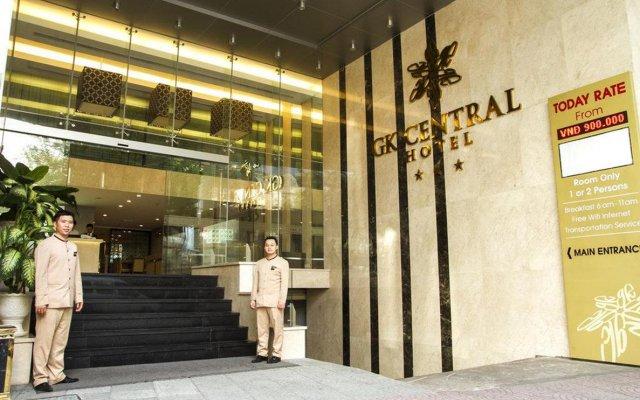 GK Central Hotel вид на фасад