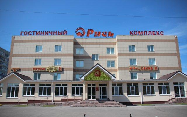 Гостиница Русь в Тольятти 5 отзывов об отеле, цены и фото номеров - забронировать гостиницу Русь онлайн вид на фасад