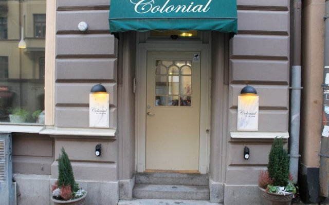 Отель Colonial Hotel Швеция, Стокгольм - 9 отзывов об отеле, цены и фото номеров - забронировать отель Colonial Hotel онлайн вид на фасад