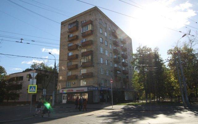 Апартаменты TVST Apartments Gruzinsky Pereulok 16 вид на фасад