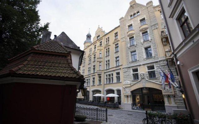 Hotel Neiburgs вид на фасад