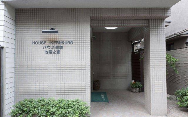 Отель House Ikebukuro Токио вид на фасад