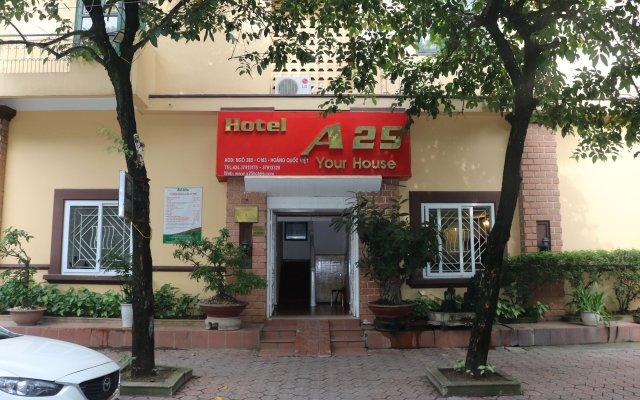 Отель A25 Hoang Quoc Viet Ханой вид на фасад