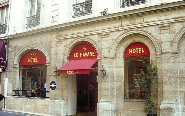 Отель Havane Opera Франция, Париж - 9 отзывов об отеле, цены и фото номеров - забронировать отель Havane Opera онлайн вид на фасад