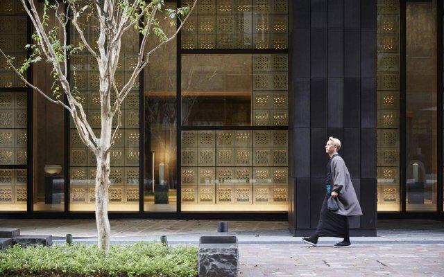 Отель Hoshinoya Tokyo Токио вид на фасад