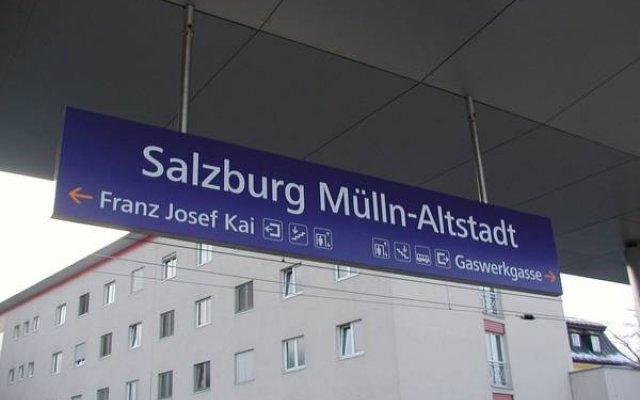 Апартаменты Apartments Wirrer Зальцбург вид на фасад
