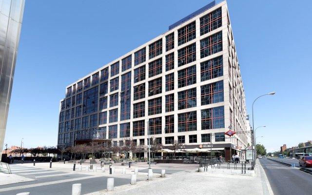 Отель Exe Plaza Испания, Мадрид - отзывы, цены и фото номеров - забронировать отель Exe Plaza онлайн вид на фасад