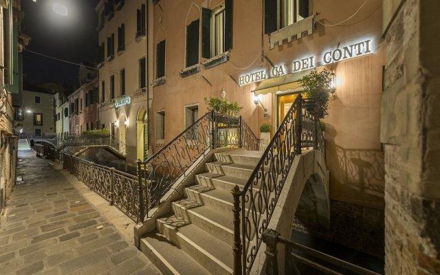 Отель Ca dei Conti Италия, Венеция - 1 отзыв об отеле, цены и фото номеров - забронировать отель Ca dei Conti онлайн вид на фасад