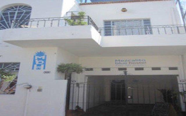 Mezcalito Blue Hostel вид на фасад