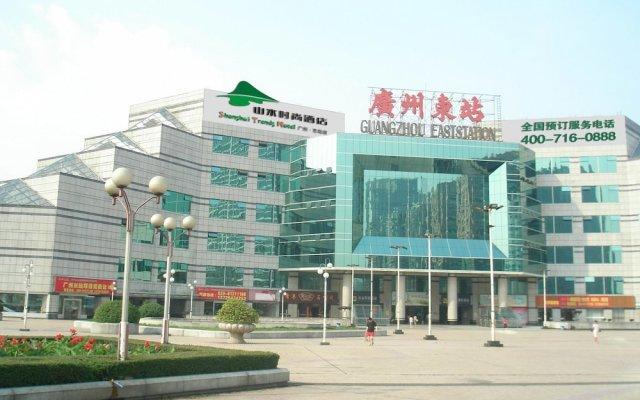 Shanshui Trends Hotel East Railway Station Guangzhou вид на фасад