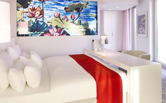 Отель art'otel cologne, by Park Plaza Германия, Кёльн - 4 отзыва об отеле, цены и фото номеров - забронировать отель art'otel cologne, by Park Plaza онлайн комната для гостей