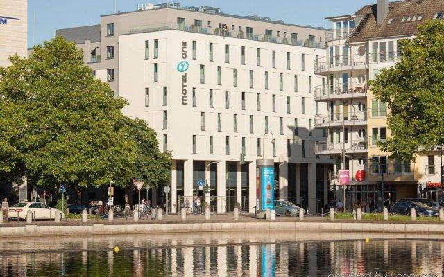 Отель Motel One Köln-Mediapark Германия, Кёльн - отзывы, цены и фото номеров - забронировать отель Motel One Köln-Mediapark онлайн вид на фасад