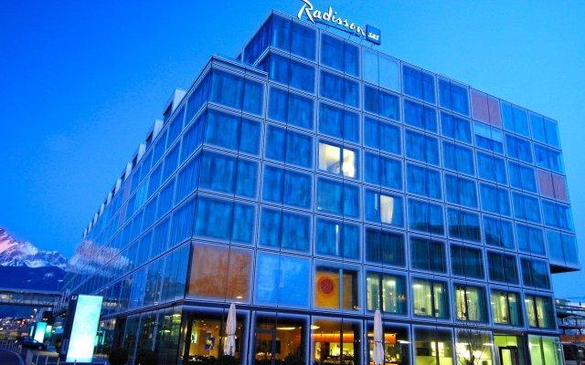 Radisson Blu Hotel, Lucerne вид на фасад
