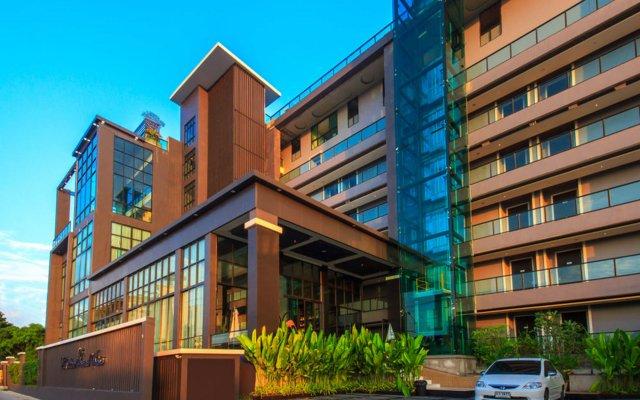 Отель Hamilton Grand Residence Таиланд, На Чом Тхиан - отзывы, цены и фото номеров - забронировать отель Hamilton Grand Residence онлайн вид на фасад