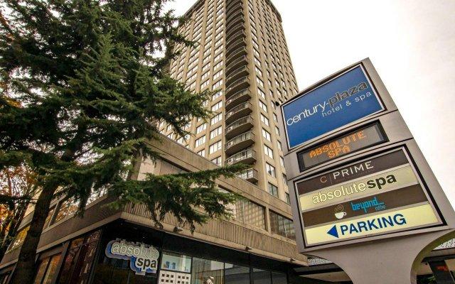 Отель Century Plaza Hotel & Spa Канада, Ванкувер - отзывы, цены и фото номеров - забронировать отель Century Plaza Hotel & Spa онлайн вид на фасад