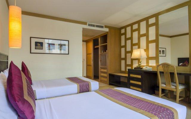 Tarntawan Place Hotel Surawong Bangkok Бангкок комната для гостей