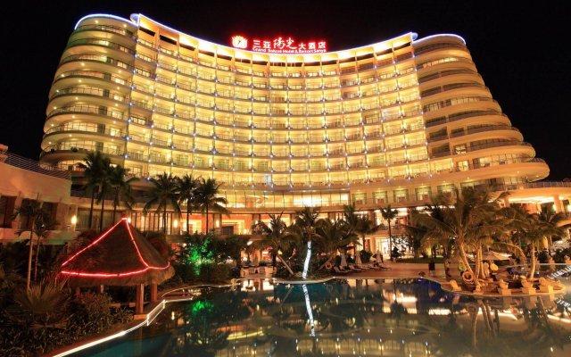 Отель Grand Soluxe Hotel & Resort, Sanya Китай, Санья - отзывы, цены и фото номеров - забронировать отель Grand Soluxe Hotel & Resort, Sanya онлайн вид на фасад