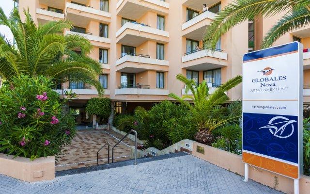 Отель Globales Nova Apartamentos Испания, Магалуф - 1 отзыв об отеле, цены и фото номеров - забронировать отель Globales Nova Apartamentos онлайн вид на фасад