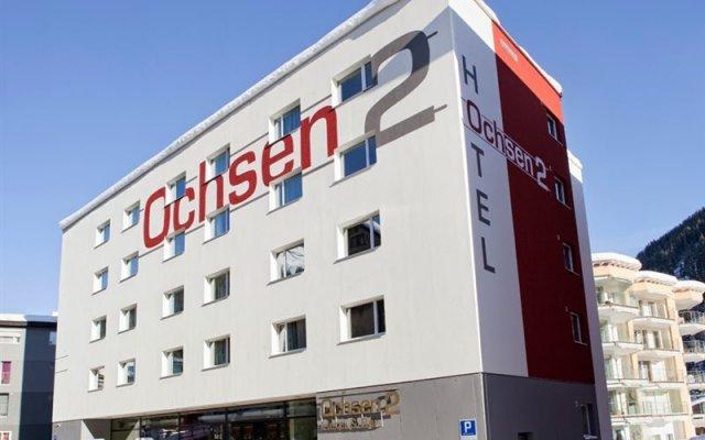 Отель Ochsen 2 Швейцария, Давос - отзывы, цены и фото номеров - забронировать отель Ochsen 2 онлайн вид на фасад