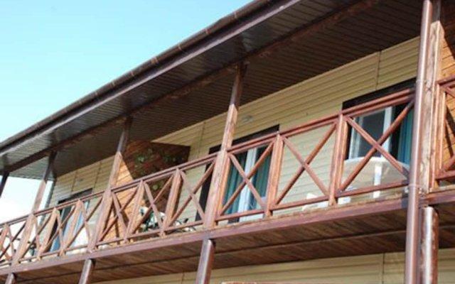 Гостиница Azovrest вид на фасад