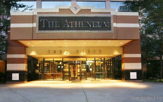 Отель Atheneum Suite Hotel США, Детройт - отзывы, цены и фото номеров - забронировать отель Atheneum Suite Hotel онлайн вид на фасад