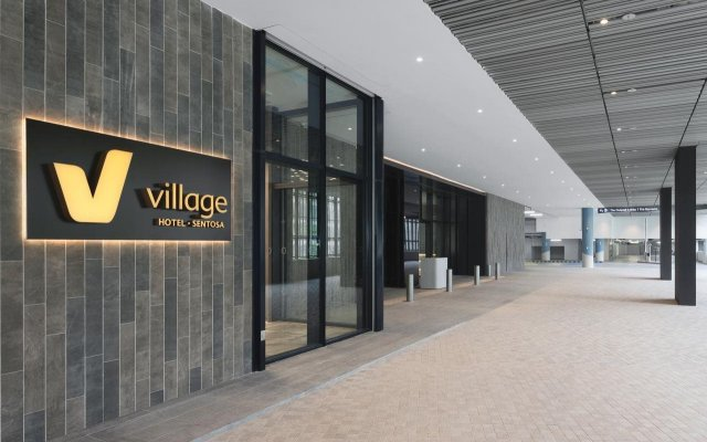 Village Hotel at Sentosa by Far East Hospitality вид на фасад