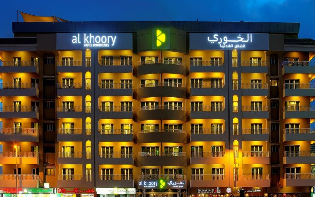 Al Khoory Hotel Apartments вид на фасад