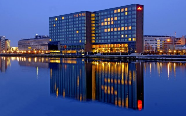 Copenhagen Marriott Hotel вид на фасад