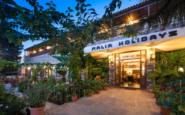 Hotel Malia Holidays вид на фасад