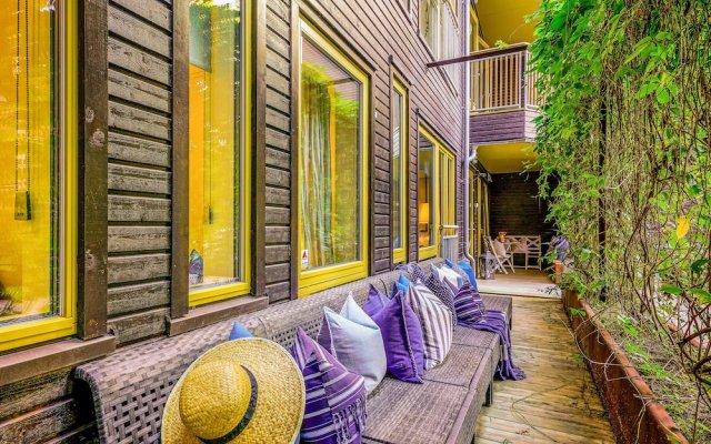Отель Nordic Host Luxury Apts-C.Krohgs Gate 39 вид на фасад