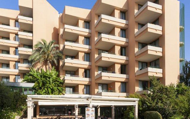 Отель Globales Nova Apartamentos вид на фасад