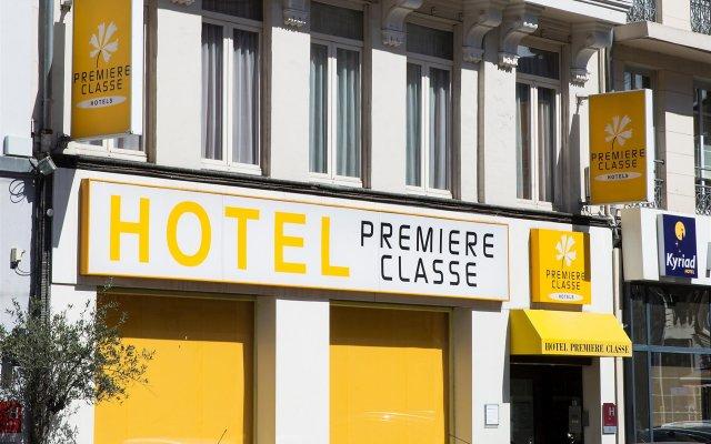 Отель Première Classe Lille Centre вид на фасад