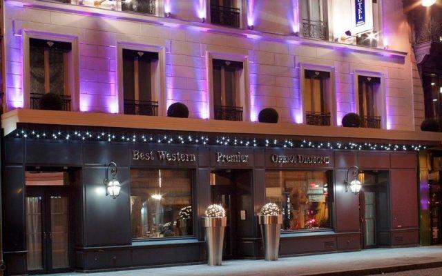 Отель Maison Albar Hotels - Le Diamond Париж вид на фасад