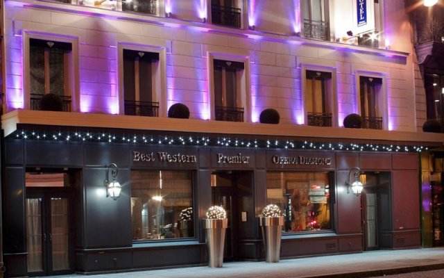 Отель Maison Albar Hotels Le Diamond вид на фасад