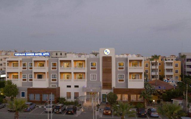 Kefalos - Damon Hotel Apartments вид на фасад